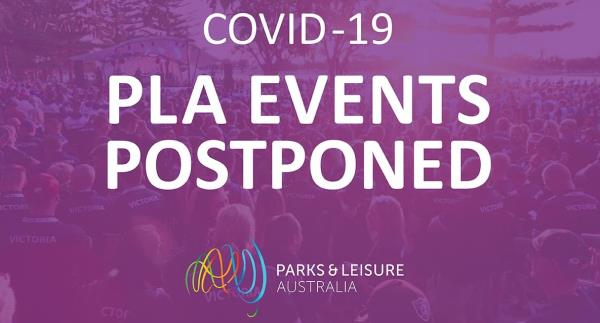 Covid-19 events postponed